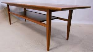 retro coffee table. 1960\u0027s Teak Retro Long Coffee Table - SOLD