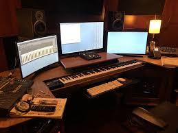 Alec Puro/Composer/Desk   Workstations design, Workstation, Computer desk  design