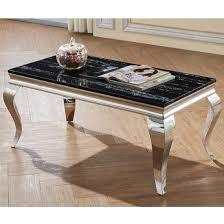 aubert marble effect coffee table in