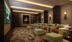 Designing A Basement Layout  Home Decorating Interior Design Home Theater Room Design Software