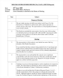 Examples Of Minutes Taken At A Meeting Meeting Minutes Word Minute Taking Template Templates