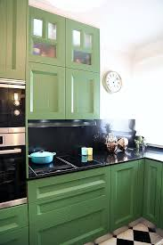 Diseno De Cocinas En Cocina Con Muebles Verdes Hay Vida Despues   Cocinas  Verdes