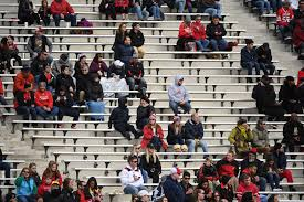 Image result for college football empty seats