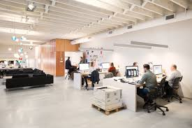 creative agency office. A Creative Agency With Modern, Open Workspace Office