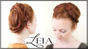 Rey Hair Style leia hair tutorial from star wars the force awakens youtube 6319 by wearticles.com