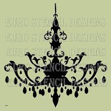 wall decals chandelier wall decal awesome euro stencil design chandelier k french used for burlap feedsack