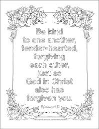 This is confirmed in romans 8:34 where the apostle paul writes that christ is sitting at god's right hand making intercession for us. Forgiving Freely Coloring Page Flanders Family Homelife