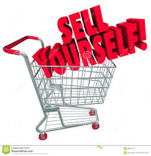sell yourself shopping cart market your abilities skills stock sell yourself shopping cart market your abilities skills