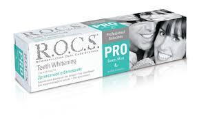 ROCS <b>PRO Sweet</b> Mint Деликатное отбеливание <b>зубная паста</b> ...