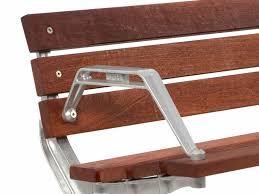 contemporary metal furniture. public bench contemporary wooden metal park ps7 street furniture australia t