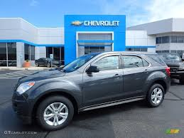 2011 Cyber Gray Metallic Chevrolet Equinox LS AWD #121867833 ...