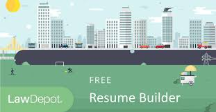 Building A Free Resumes Resume Builder Free Resume Template Us Lawdepot