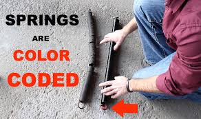 replace garage door extension springs