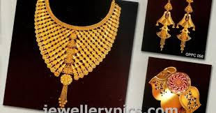 anjali jewellers gold wedding collection. pc chandra jewellers wedding jewellery catalogue -1 - latest designs anjali gold collection g