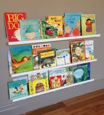 ikea frame shelves as kids book shelf i think it looks great and kids love