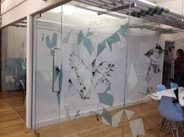 glass door decals ideas