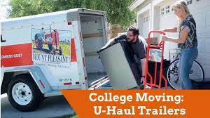 U Haul Customer Service College Moving U Haul Trailers For Students Youtube