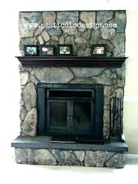 best of lava rock fireplace and rock fireplace once upon a time this fireplace was lava