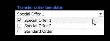 Transfer Order Template Transfer Orders Win Data3s