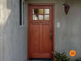 craftsman style front doorCraftsman Style Fiberglass Entry Doors Examples Ideas  Pictures