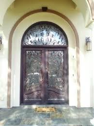 iron front doorsCustom Wrought Iron Entry Doors San Jose Los Gatos Santa Clara