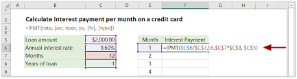 How To Calculate Interest Payments Per Period Or Total With