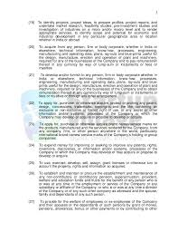 Sample Company Memorandum Sample Memorandum Of Association It Firm