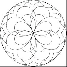 ideas easy mandala coloring pages or free printable elephant full size