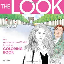 amazon amazon the look an around the world fashion coloring book