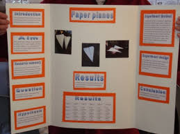 Science Fair Project Labels Printable Paper Airplane Science Project Results