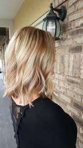 Platinum Blonde Hair With Strawberry Blonde Highlights