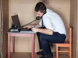 cramped office space. Cramped Office Space E