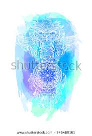 What Is A Dream Catcher Used For Hand Drawn Ornate Spiritual Symbols Totemic Stock Vector 100 99
