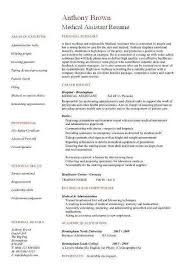 Resume Examples Medical Assistant Simple Medical Administrative Assistant Resume Sample Unique Resume