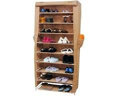 wood portable closet