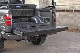 Black Tread Full Tailgate Protector, Dee Zee, DZ4103B   Nelson Truck ...