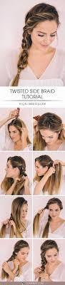 Easy Hairstyles For Medium Length Hair Tutorial Gegeheme