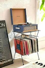 vinyl storage ideas wall mounted record shelf metal shelves plans