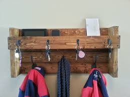 Entryway Coat Rack and Mail Organizer ...