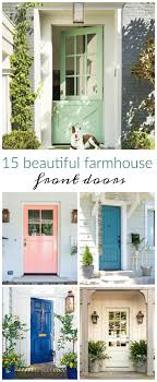 Best 25+ Farmhouse front doors ideas on Pinterest | Stained front ...