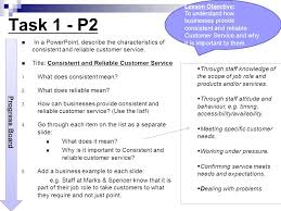 How Would You Describe Customer Service Consistent And Reliable Customer Services Ppt Video Online