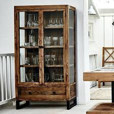 wooden glass cabinet reclaimed wood glass display cabinet modish living wooden wall cabinets with glass doors