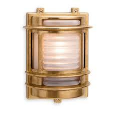 Solid Brass Outdoor Lighting Firstlight Nautical Solid Brass Outdoor Bulkhead Light