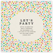 Electronic Birthday Invite Online Party Invite Magdalene Project Org
