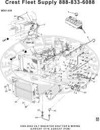 Radiator shutter wiring lx0 cat 3116 lg5 cat 3126