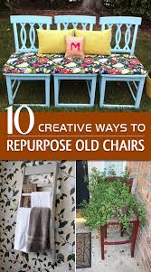 how to repurpose old furniture. 10 Creative Ways To Repurpose Old Chairs How Furniture