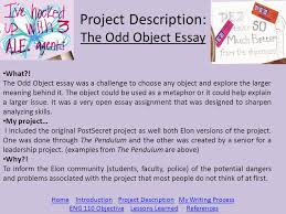 the odd object essay ldquo postsecret not so secret rdquo ppt project description the odd object essay