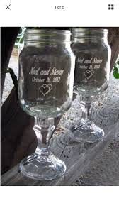 2 Engraved Redneck Wine Glasses 16 OZ Personalized by NokNoks