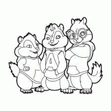 Leuk Voor Kids Alvin The Chipmunks Roadchip Kleurplaten