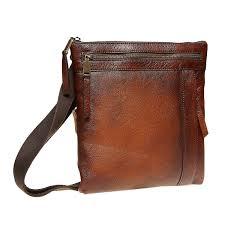 men s leather cross bag bata brown 964 4138 13
